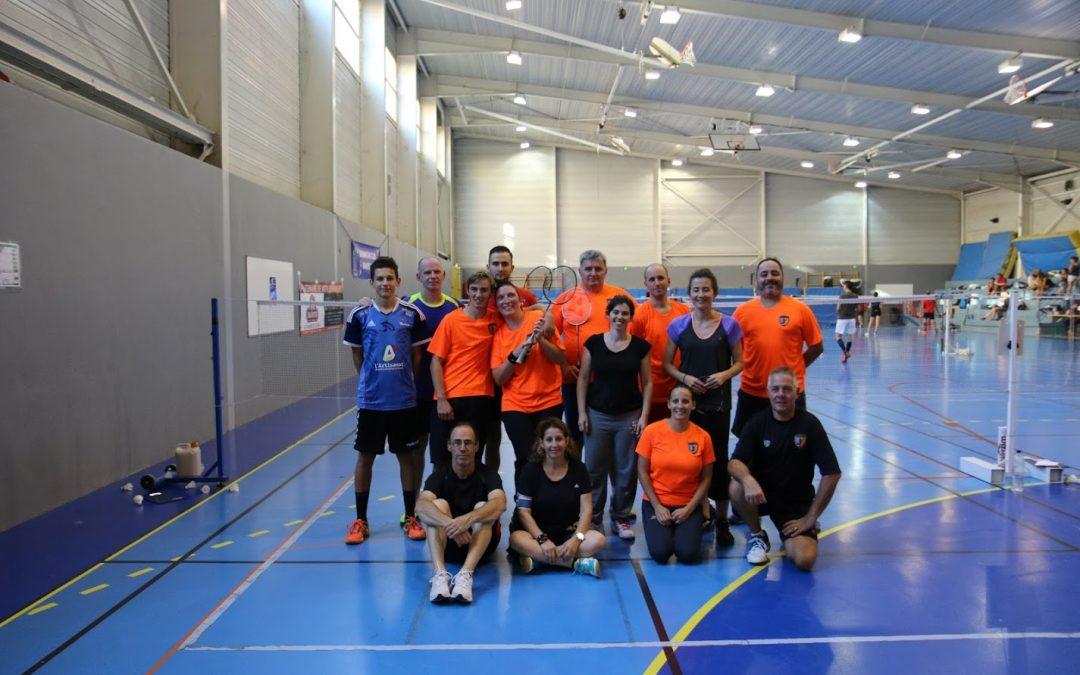 Tournoi de badminton à Manosque du 02/10/2016