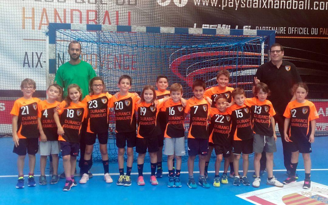 Plateau -9ans au PAUC Handball