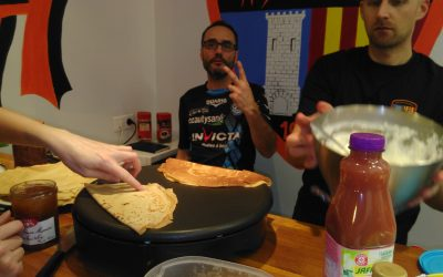 Crêpes party au Badminton