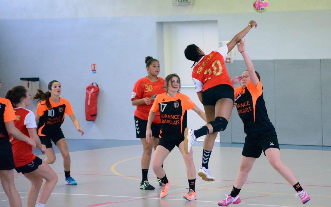Equipe -16 Filles contre Martigues / Résumé du match du 12 Mars 2017
