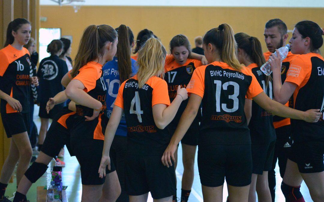 Phase finale de handball des -16 Féminines du 7 Mai 2017