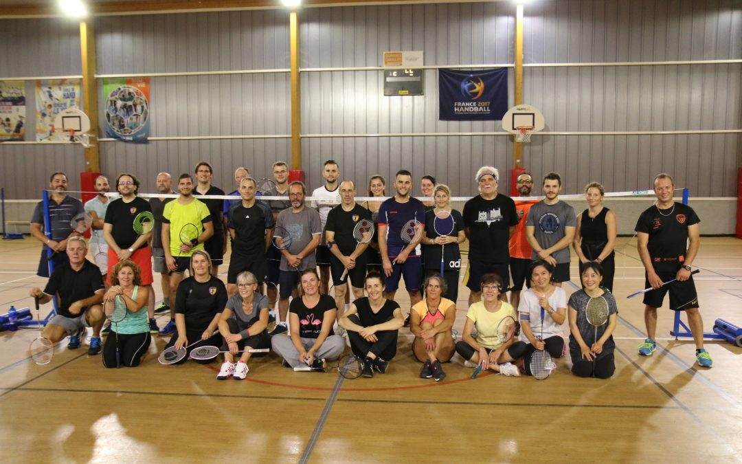 Une superbe saison en perspective pour la section Badminton