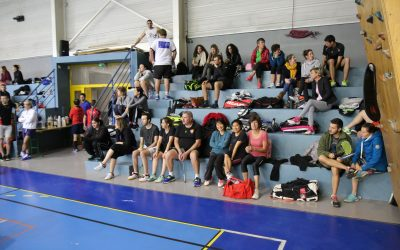 La section badminton du BVHCP au tournoi de Manosque
