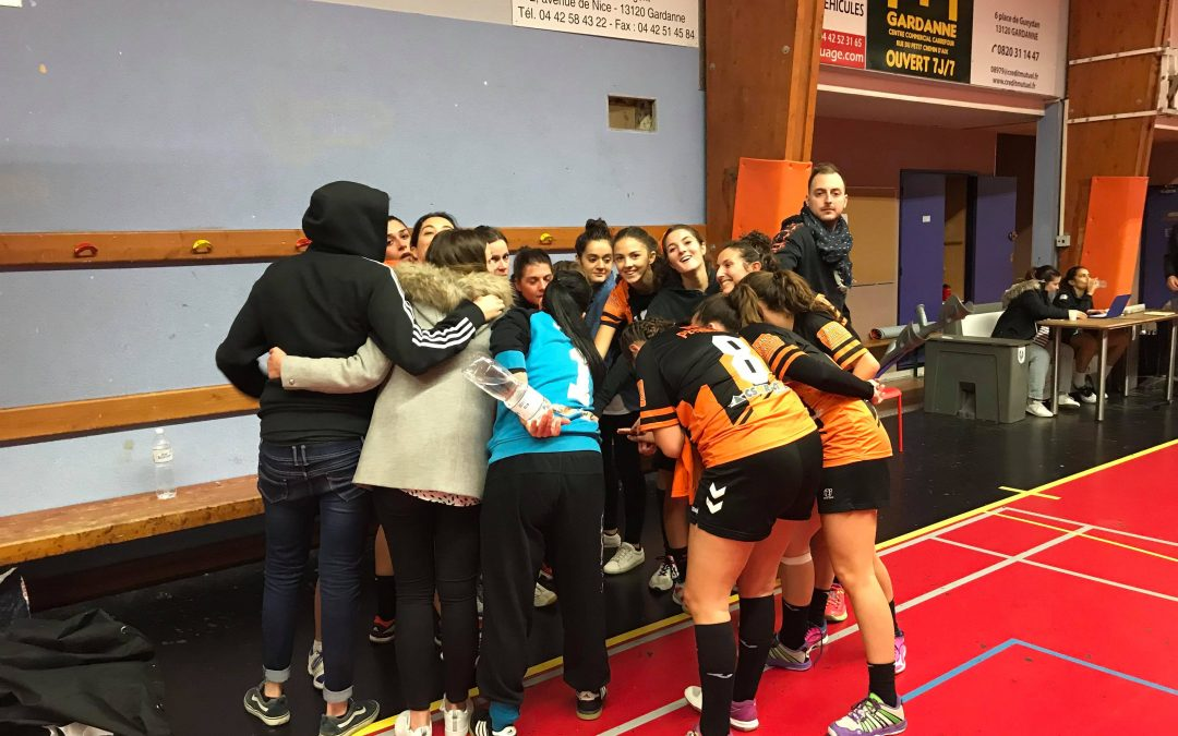 Section handball: Retour sur la première partie de saison des seniors filles par le coach Hugo