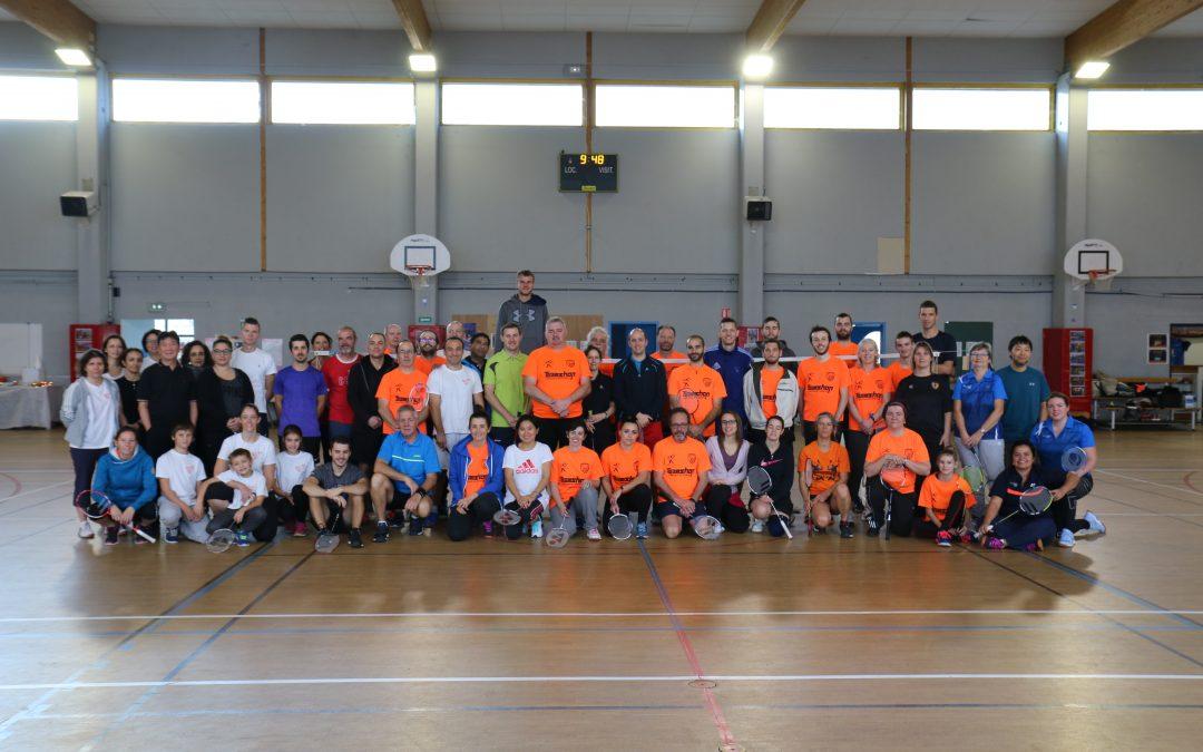 Tournoi de Badminton de Décembre